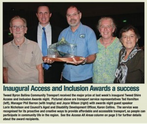 Access and inclusion tweed link