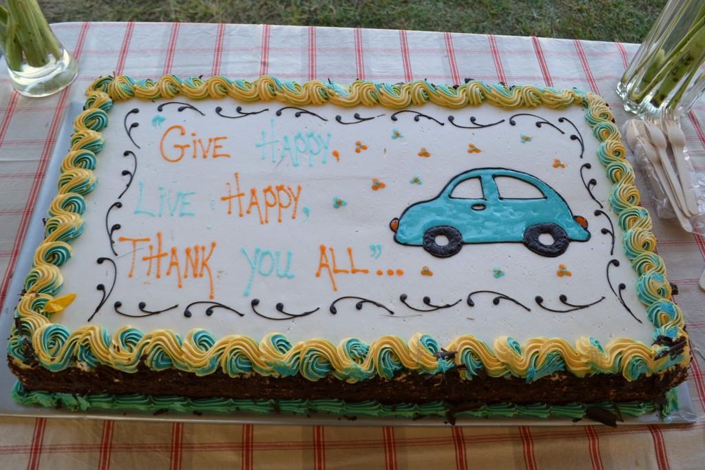 Volunteers Cake 2016